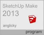 Verze programu SketchUp pro rok 2013 má označení Make (freeware)