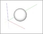Vytvoření koule pomocí pluginu: jf_spheretool.rb