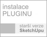 Instalace pluginu pro starší verze SketchUpu (starší až do verze 2013)