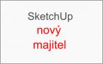 Google prodal SketchUp společnosti Trimble