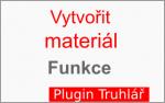 Popis funkce: Vytvorit material Truhlar