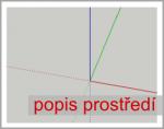 Popis prostředí programu SketchUp