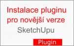 Instalace pluginu pro novější verze SketchUpu (od verze 2014)