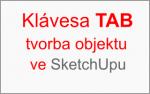 Zadáváme hodnoty objektu pomocí klávesy TAB