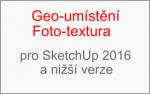 Konec podpory Goe-umístění a Foto-textury pro SketchUp 2016 a nižší verze
