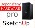 Doporučený hardware pro SketchUp 2017