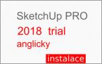 Instalace programu SketchUp PRO 2018 (trial PRO verze)