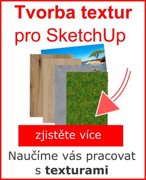 kurz - Tvorba textury pro SketchUp