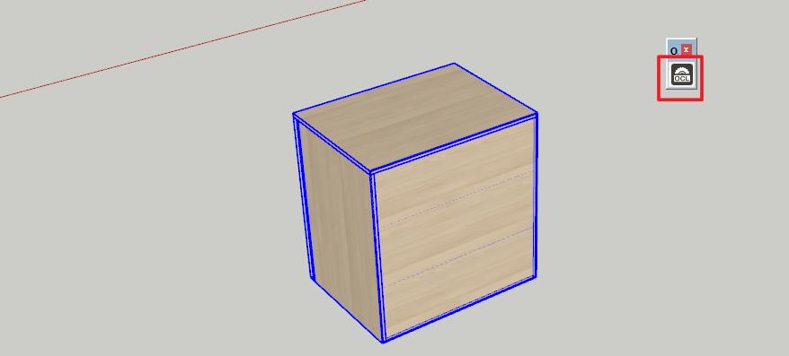 Upravíme záda u skříně na sololak pomocí pluginu OpenCutList ve SketchUpu