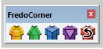 Plugin FredoCorner - zaoblení hrany ve SketchUpu - novější způsob.