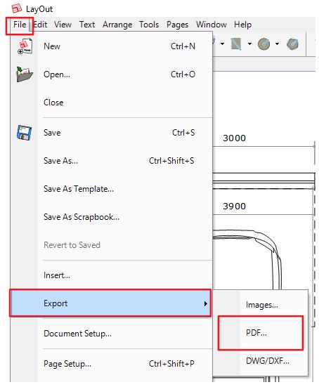 Jednoduchý postup jak vytvořit výkres z LayOutu do formátu PDF.